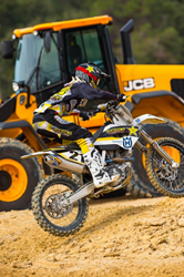 JCB Preferred Equipment Supplier at Baker Motorcross Training Facility