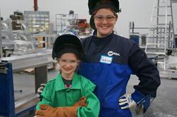 Girl Scout troop learns to weld in Cincinnati