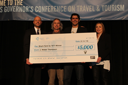 Georama wins Shark Tank by 1871 competition at IL Governor's Conference on Travel & Tourism