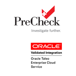 Oracle Talent Management Cloud Customers Can Quickly and Easily Discover PreCheck's Background Screening to Allow Mutual Customers the Ability to Streamline Their Hiring Process