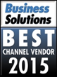Datalogic is Recognized as Best Channel Vendor for 2015 by Business Solutions Magazine
