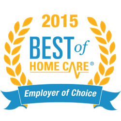 2015 Best of Home Care® Employer of Choice
