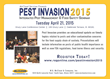 McCloud Services' Annual Pest Invasion to Take Place April 21, 2015