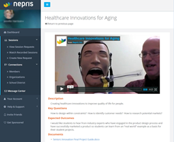 Nepris online sessions expose students to STEAM.