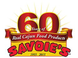 Savoie's 60th Anniversary logo