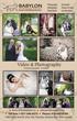 Wedding Video Photography Toronto