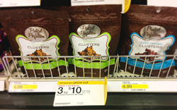 Pretzel Perfection Clusters on Target Shelves