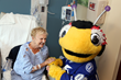 ThunderBug Cheers up Patients at Florida Hospital Wesley Chapel