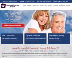 American Hearing Center Homepage