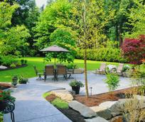 Charlotte backyard landscaping
