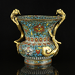Early 16th century Chinese Ming Dynasty, cloisonné enamel Zun vase