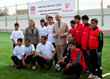 The Prince of Wales Visits Syrian Refugees at Mercy Corps Project in...