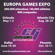 Orlando Europa Games / Dallas Europa Games / Atlantic City Europa Games / Phoenix Europa Games