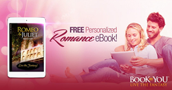 Complimentary personalized ebook edition of Romeo and Juliet from Book By You for Valentines