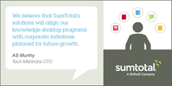 Tech Mahindra Successfully Implements SumTotal learning management system
