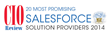 Sales Outcomes Chosen by CIO Review Magazine as 20 Most Promising Salesforce Solution Providers 2014