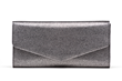 Jill Milan New Canaan Clutch in silver fabric