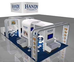 Handy International's Trade Show Booth