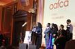 Oprah Winfrey Accepts AAFCA Award at Taglyan Complex