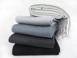 grey cashmere pashmina
