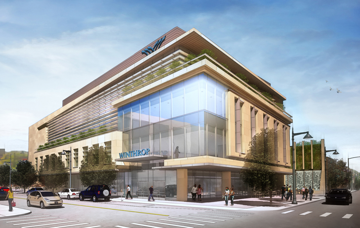 Perkins eastman joins winthrop university hospital in for Exterior research and design