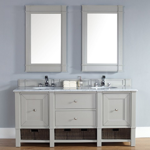 Has introduced a guide to trendy gray - Furniture looking bathroom vanities ...