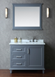 Seacliff Nantucket 42″ Single Bathroom Vanity Set SCNAN42SWG from Ariel