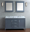 Seacliff Nantucket 60″ Single Sink Bathroom Vanity Set SCNAN60SWG from Ariel