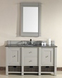 Madison 60″ Single Bathroom Vanity Cabinet in Dove Gray 800-V60S-DVG from James Martin Furniture