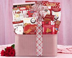 Valentine Extravaganza - a popular Valentine's Day gift basket.