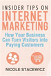 Nicole Stacewicz publishes new book 'Insider Tips on Internet Marketing'