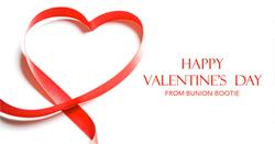 Bunion Bootie Valentine's Day Promo