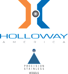 For stainless steel pressure vessel design and custom vessel machinery, contact Holloway.