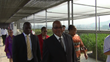 President Of South Africa Visits Rooftop Farm