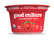 "good culture organic cottage cheese, ""strawberry chia"""