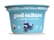 "good culture organic cottage cheese, ""blueberry açaí chia"""
