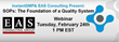InstantGMP™ and EAS Consulting Group to Co-Host Webinar on the...