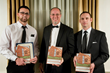 CotY Award Winners Nick Lauro, Brian J. Martin, and Peter Kulp