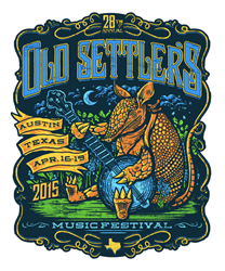 Shweiki Media Printing Company, Old Settler's Music Festival, sponsorship, print