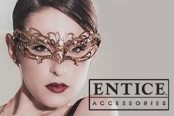 Entice Accessories, CalExotics, California Exotic Novelties, BDSM, fetish, fifty shades