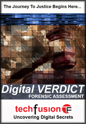 Techfusion's Digital VERDICT Forensics Assessment: the nation's first introductory-level digital forensic assessment.