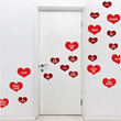 The Conversation Heart Decals from Trendy Wall Designs