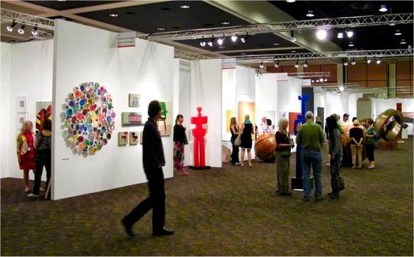 Palm springs fine art fair brings home shoppers for Palm springs craft fair