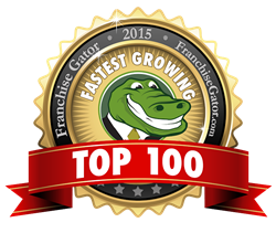 101 Mobility has been included on Fran Gator's Top 100 List and their Fastest Growing Franchise List
