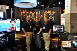 The FIRE-FX Leadership Team in Denver at the CEDIA Expo.