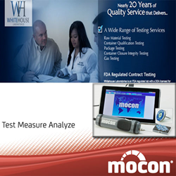 Mocon Whiteouse Laboratories Container Testing