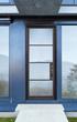 GlassCraft's modern steel door from the new NP Series