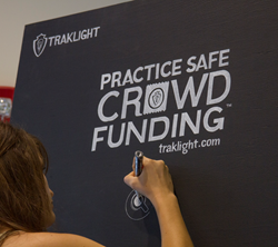 Traklight® launched the Practice Safe Crowdfunding® campaign.