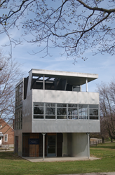 The Aluminaire House, photo by Michael Schwarting