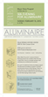 Aluminaire event graphic